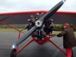 Morane 317 : son moteur en étoile