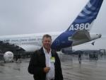La présentation de l'A 380 Claude Domergue