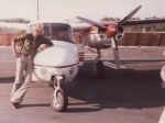 JH pose devant l'AC 680