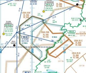 Zone d'entraînement R158